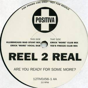Cover - Reel 2 Real: Are You Ready For Some More?