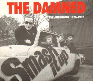 The Damned: Smash It Up The Anthology 1976-1987 - Cover