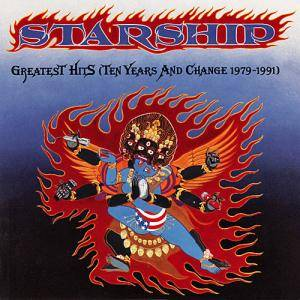 Starship: Greatest Hits (Ten Years And Change 1979-1991) - Cover