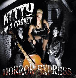Kitty In A Casket: Horror Express - Cover