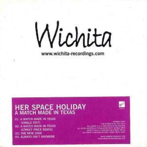Cover - Her Space Holiday: Match Made In Texas, A