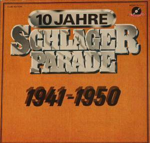Cover - Lale Andersen: 10 Jahre Schlagerparade - 1944