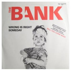 The Bank: Wrong Is Right - Cover