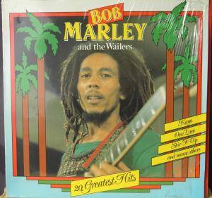 Bob Marley & The Wailers: 20 Greatest Hits - Cover