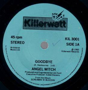 Cover - Angel Witch: Goodbye