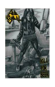 Hell Bullet: Kill For Beer - Cover
