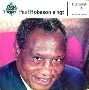 Cover - Paul Robeson: Paul Robeson Singt