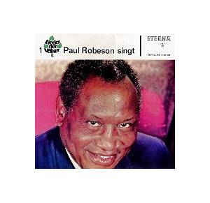 Paul Robeson: Paul Robeson Singt - Cover