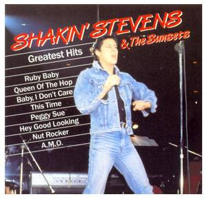 Shakin' Stevens & The Sunsets: Greatest Hits - Cover