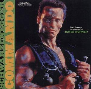 James Horner: Commando - Cover