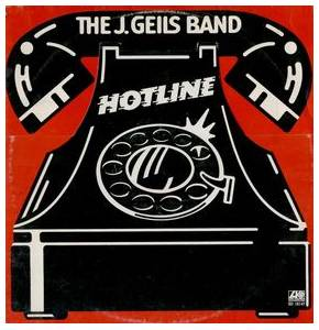 The J. Geils Band: Hotline - Cover