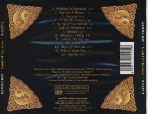 Gamma Ray: Land Of The Free (CD) - Bild 2
