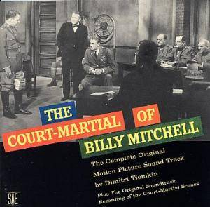 Cover - Dimitri Tiomkin: Court-Martial Of Billy Mitchell, The