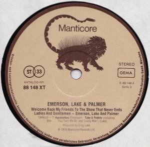 Emerson, Lake & Palmer: Welcome Back, My Friends, To The Show That Never Ends - Ladies And Gentlemen (3-LP) - Bild 5