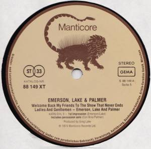 Emerson, Lake & Palmer: Welcome Back, My Friends, To The Show That Never Ends - Ladies And Gentlemen (3-LP) - Bild 7