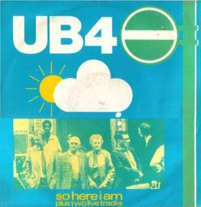 UB40: So Here I Am - Cover