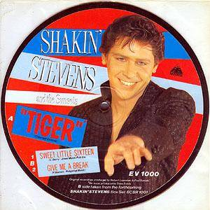 Cover - Shakin' Stevens & The Sunsets: Tiger