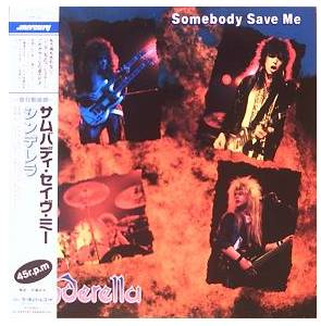 Cinderella: Somebody Save Me - Cover
