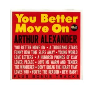 Arthur Alexander: You Better Move On - Cover