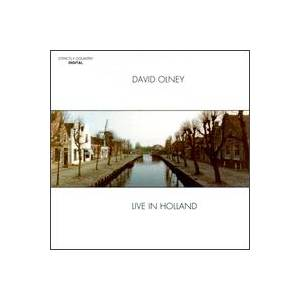 Cover - David Olney: Live In Holland