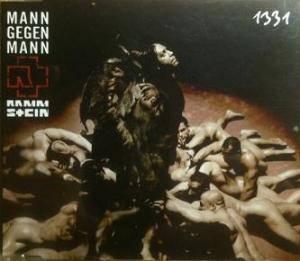 Rammstein: Mann Gegen Mann (Promo-Single-CD) - Bild 1
