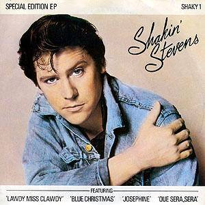 Shakin' Stevens: Blue Christmas - Cover