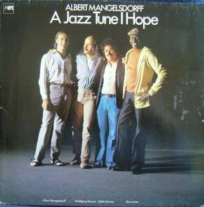 Albert Mangelsdorff: Jazz Tune I Hope, A - Cover