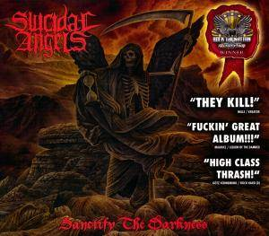 Suicidal Angels: Sanctify The Darkness - Cover