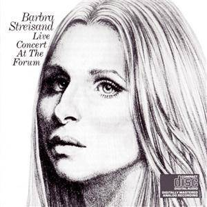 Barbra Streisand: Live Concert At The Forum - Cover