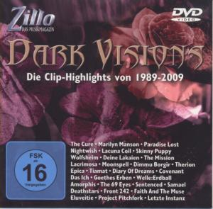 Cover - Various Artists/Sampler: Zillo - Dark Visions / Die Clip-Highlights Von 1989-2009