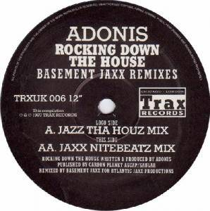 Cover - Adonis: Rocking Down The House