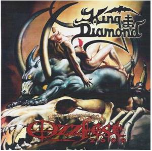 King Diamond: With Metallica At Ozzfest 2008 - Cover