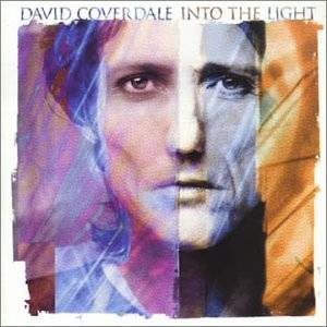 David Coverdale: Into The Light - Cover