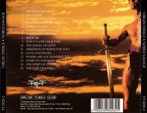 Virgin Steele: Noble Savage (CD) - Bild 3