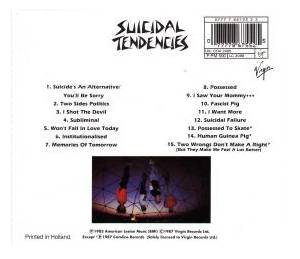Suicidal Tendencies: Suicidal Tendencies (CD) - Bild 2