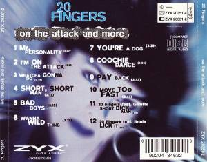 20 Fingers Feat. Gillette: On The Attack And More (CD) - Bild 4