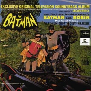 Cover - Nelson Riddle: Batman - Exclusive Original Television Soundtrack Album
