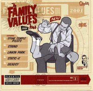 Family Values Tour 2001, The - Cover