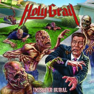 Holy Grail: Improper Burial - Cover