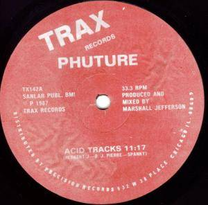 Cover - Phuture: Acid Tracks