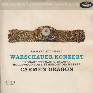 Richard Addinsell: Warschauer Konzert - Cover