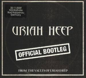 Uriah Heep: Official Bootleg From The Vaults Of Uriah Heep - Cover
