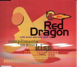 Red Dragon With Brian & Tony Gold: Compliments On Your Kiss - Cover