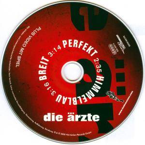 Die Ärzte: Himmelblauperfektbreit (Single-CD) - Bild 3