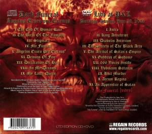 Dark Funeral: Angelus Exuro Pro Eternus (CD + DVD) - Bild 2