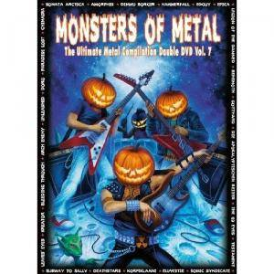 Cover - Divinity: Monsters Of Metal Vol. 7