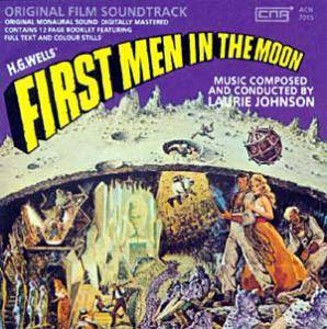 Cover - Laurie Johnson: First Men In The Moon