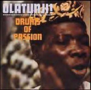Babatunde Olatunji: Drums Of Passion - Cover