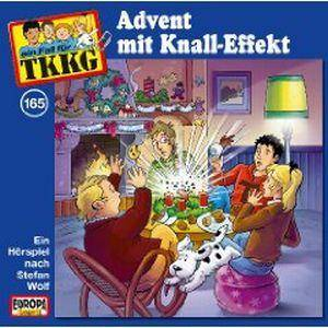 TKKG: (165) Advent Mit Knall-Effekt - Cover