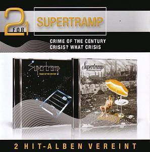 Supertramp: Crime Of The Century / Crisis? What Crisis? - Cover